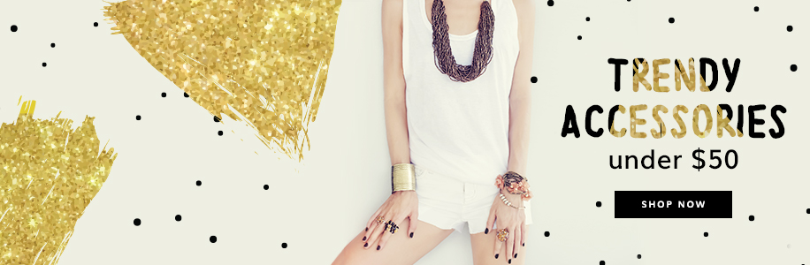 Rings, necklaces & bracelets <br>starts from $14