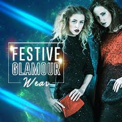 Festive glamour wear