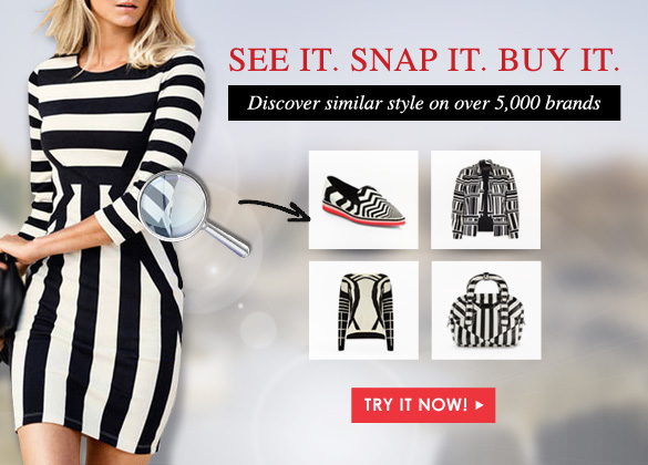 Visually Search & Shop <br> Over 2 Million Fashion items