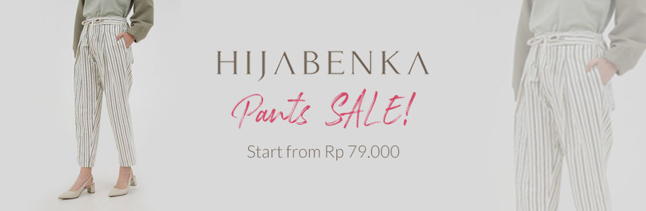 Hijabenka Pants SALE!!! Start from Rp. 79.000