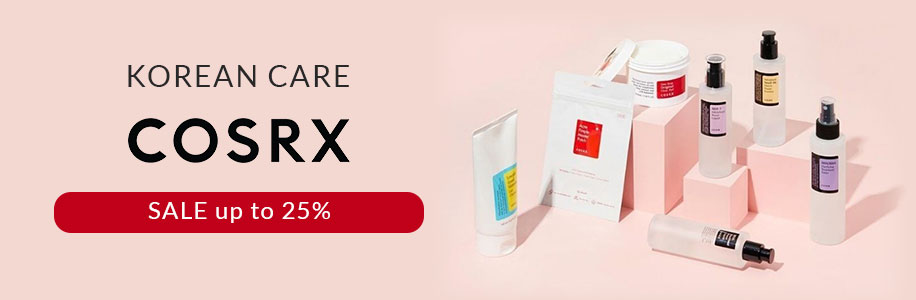 "Korean Care ""COSRX"" SALE up to 25%"
