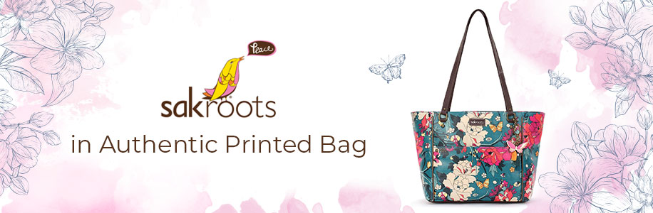 SAKROOTS in Authentic Printed Bag