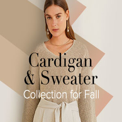 Cardigan & Sweater Collection for Fall Season