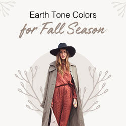 Earth Tone Colors for Fall Season