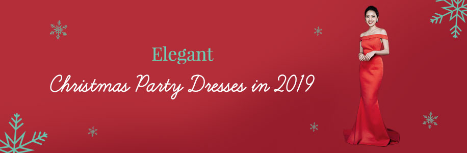 Elegant Christmas Party Dresses in 2019