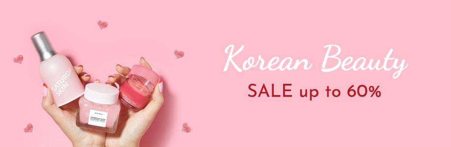 K-BEAUTY SALE up to 60%