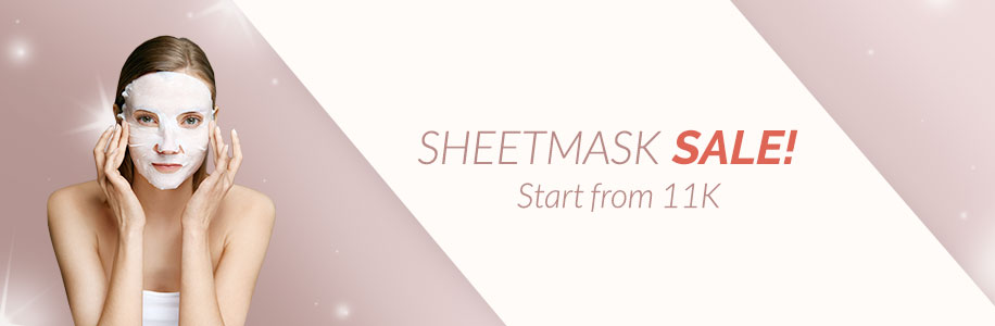 Sheetmask SALE! Start from 11K
