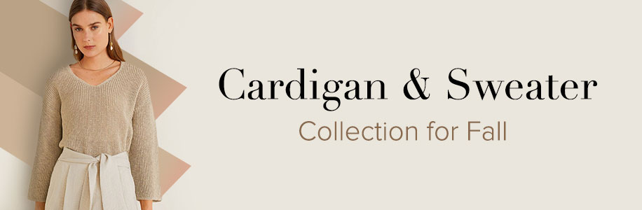 Cardigan & Sweater Collection for Fall