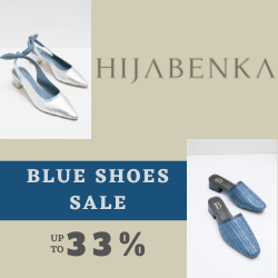 Hijabenka Blue Shoes SALE, up to 33%
