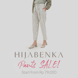 Hijabenka Pants, Start from Rp. 79.000