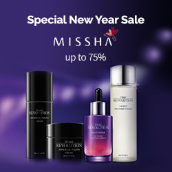 Missha Super SALE up to 75%