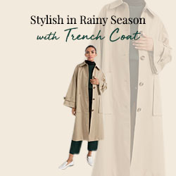 Stylish in the Rainy Season with Trench Coat